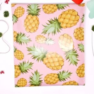 20 10x13 pineapple design poly mailers